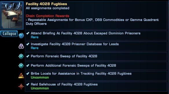 Facility 4028 Fugitives