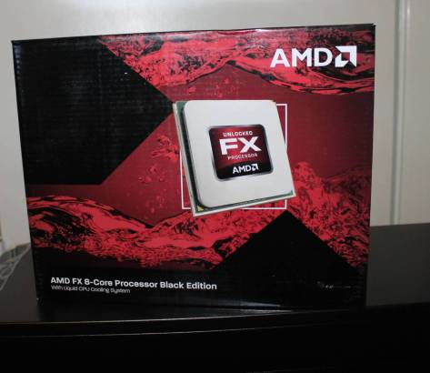 AMD 8 Core Zambezi Processor 3.6ghz Black Edition
