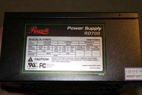 Rosewill PSU
