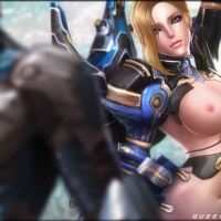 Scarlet Blade (Queens Blade) – In The Blue (NSFW, Nudity)