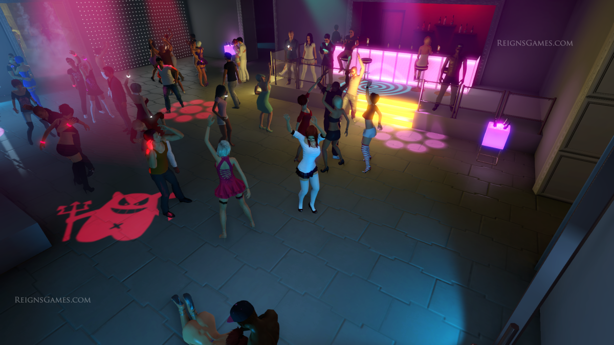 3DXChat - Club Dance! (NSFW, Nudity)