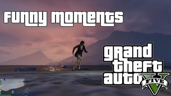 Grand Theft Auto Online – Titan Fail, NPC Modder, Saved! (Hunie Pop Bonus!)